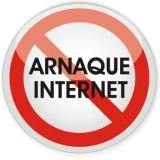 panneau arnaque internet